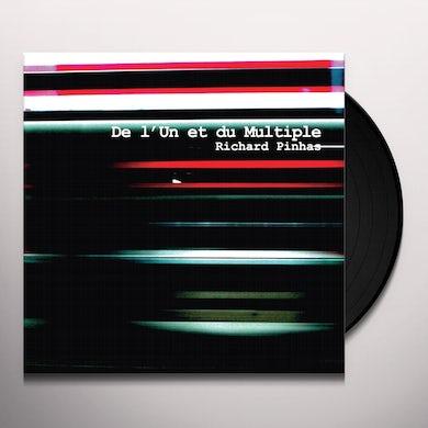 Richard Pinhas DE L'UN ET DU MULTIPLE Vinyl Record