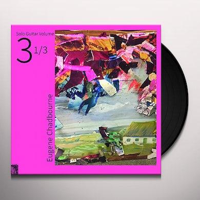 Eugene Chadbourne SOLO GUITAR VOLUME 3-1 / 3 Vinyl Record