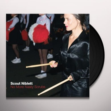 Scout Niblett NO MORE NASTY SCRUBS Vinyl Record