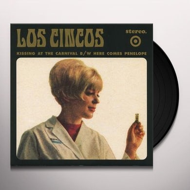 Cincos KISSING AT THE CARNIVAL Vinyl Record