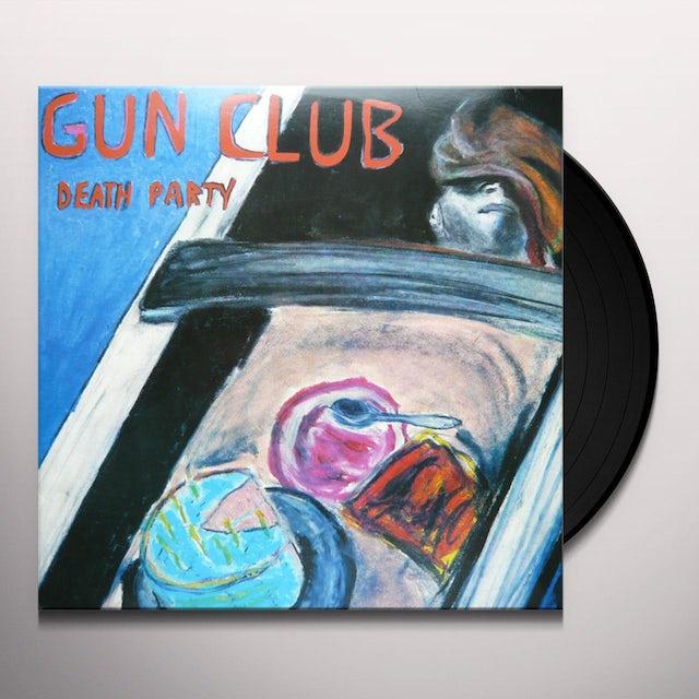 The Gun Club DEATH PARTY Vinyl Record