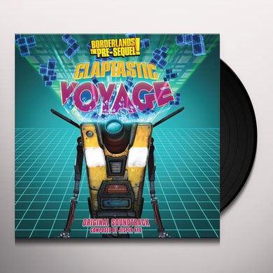 Jesper Kyd BORDERLANDS THE PRE-SEQUEL: CLAPTASTIC VOYAGE Vinyl Record