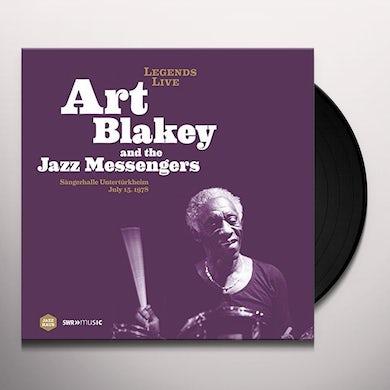 Art Blakey LEGENDS LIVE: SANGERHALLE UNTERTURKHEIM 1978 Vinyl Record