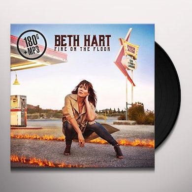 Beth Hart FIRE ON THE FLOOR Vinyl Record - UK Release