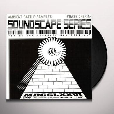 Soundscape Series AMBIENT BATTLE SAMPLES Vinyl Record