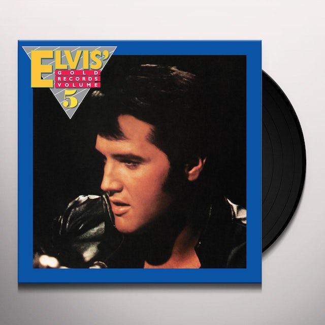 Elvis Presley GOLD RECORDS VOLUME 5 Vinyl Record