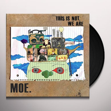 moe. This Is Not, We Are (LP) (Blue Galaxy) Vinyl Record