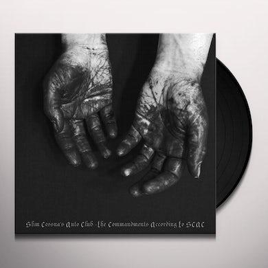 COMMANDMENTS ACCORDING TO SCAC Vinyl Record