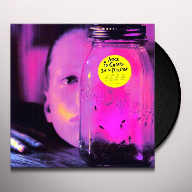 Alice In Chains JAR OF FLIES/SAP Vinyl Record