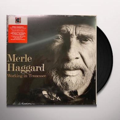 Merle Haggard WORKING IN TENNESSEE Vinyl Record