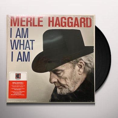 Merle Haggard I AM WHAT I AM Vinyl Record
