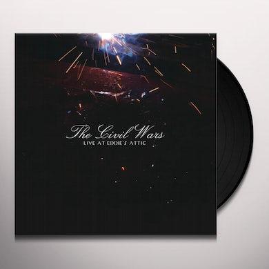 The Civil Wars LIVE AT EDDIE'S ATTIC Vinyl Record