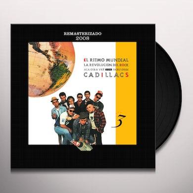 FABULOSOS CADILLACS EL RITMO MUNDIAL Vinyl Record