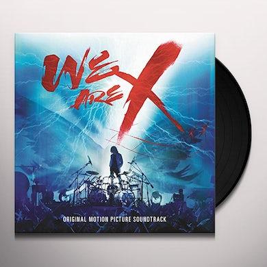 WE ARE X SOUNDTRACK Vinyl Record