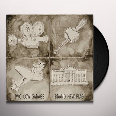 TWO COW GARAGE BRAND NEW FLAG Vinyl Record