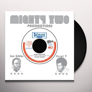 Sylford Walker BURN BABYLO Vinyl Record