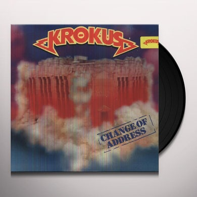 Krokus CHANGE OF ADDRESS Vinyl Record