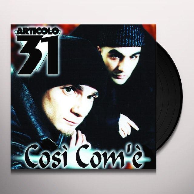 Articolo 31 COSI COM'E Vinyl Record