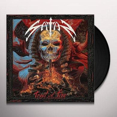 Satan TRAIL OF FIRE - LIVE IN NORTH AMERICA Vinyl Record