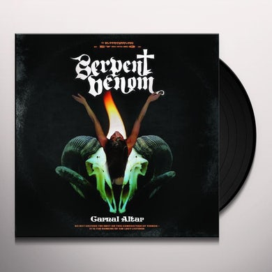 Serpent Venom CARNAL ALTAR Vinyl Record