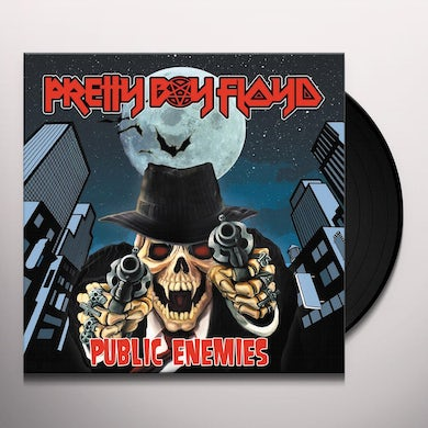 Pretty Boy Floyd PUBLIC ENEMIES Vinyl Record