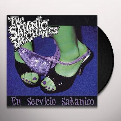 Satanic Mechanics EN SERVICIO SATANICO Vinyl Record