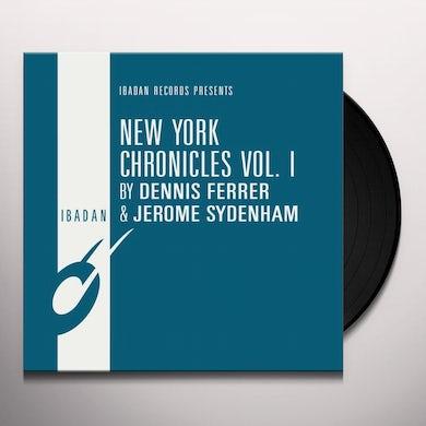 Dennis Ferrer / Jerome Sydenham NEW YORK CHRONICLES 1 Vinyl Record