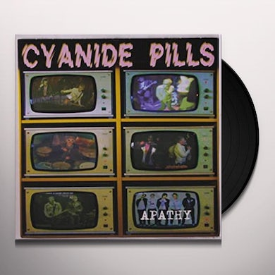 Cyanide Pills APATHY / CONSPIRACY THEORY Vinyl Record