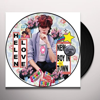 Helen Love NEW BOY IN TOWN Vinyl Record