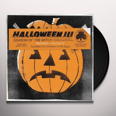 John Carpenter HALLOWEEN III: SEASON OF THE WITCH Vinyl Record