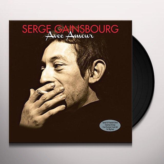 Serge Gainsbourg AVEC AMOUR Vinyl Record