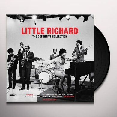 Little Richard  THE DEFINITIVE COLLECTION (RED VINYL) Vinyl Record