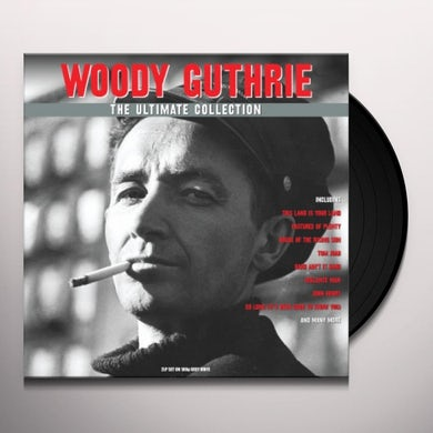 Woody Guthrie THE ULTIMATE COLLECTION Vinyl Record
