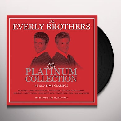 The Everly Brothers PLATINUM COLLECTION Vinyl Record