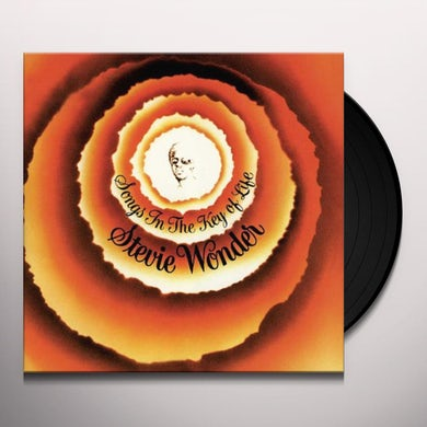 Stevie Wonder  SONGS IN THE KEY OF LIFE Vinyl Record