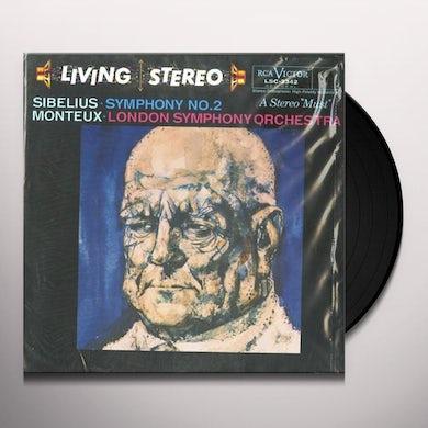 Sibelius / Monteux SYMPHONY 2 (Vinyl)