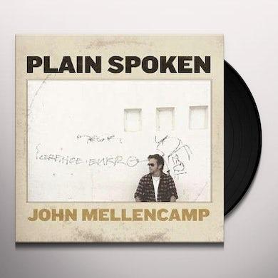 John Mellencamp Plain Spoken (LP) Vinyl Record