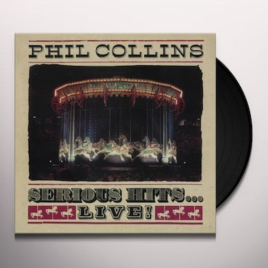 Phil Collins SERIOUS HITS LIVE Vinyl Record
