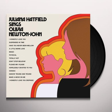 Sings Olivia Newton-John Vinyl Record
