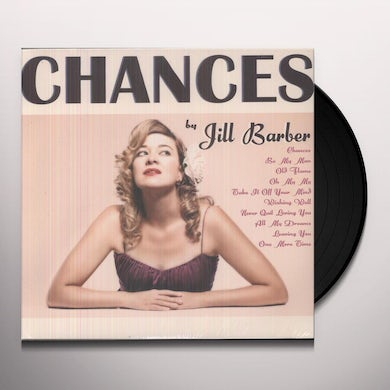 Jill Barber CHANCES Vinyl Record