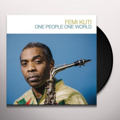 Fela Kuti ONE PEOPLE ONE WORLD Vinyl Record