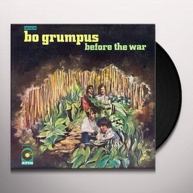 Bo Grumpus BEFORE THE WAR Vinyl Record