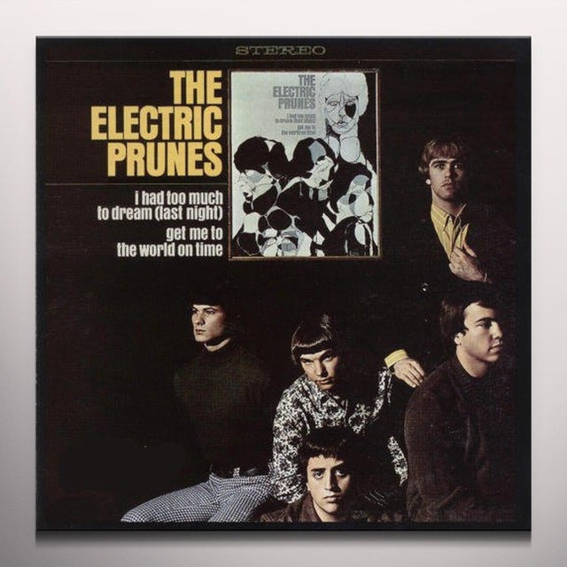 Electric Prunes HAD TOO MUCH TO DREAM Vinyl Record