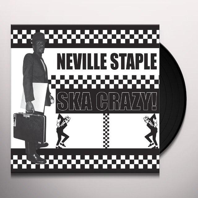 Neville Staple SKA CRAZY Vinyl Record