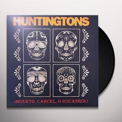 Huntingtons Muerto  Carcel O Rocanrol (Color Vinyl) Vinyl Record