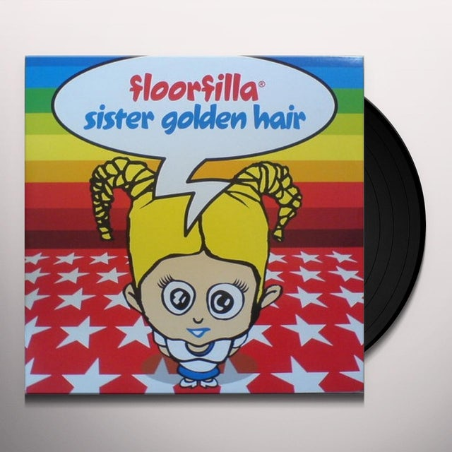 Floorfilla SISTER GOLDEN Vinyl Record