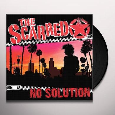 Scarred NO SOLUTION Vinyl Record