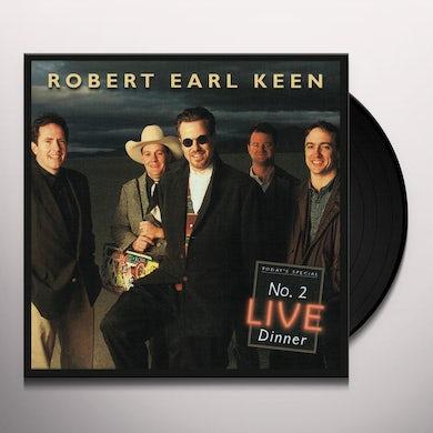 Robert Earl Keen NO. 2 LIVE DINNER Vinyl Record