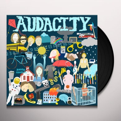 Audacity HYPER VESSELS Vinyl Record