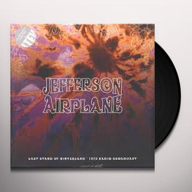 Jefferson Airplane LAST STAND AT WINTERLAND Vinyl Record